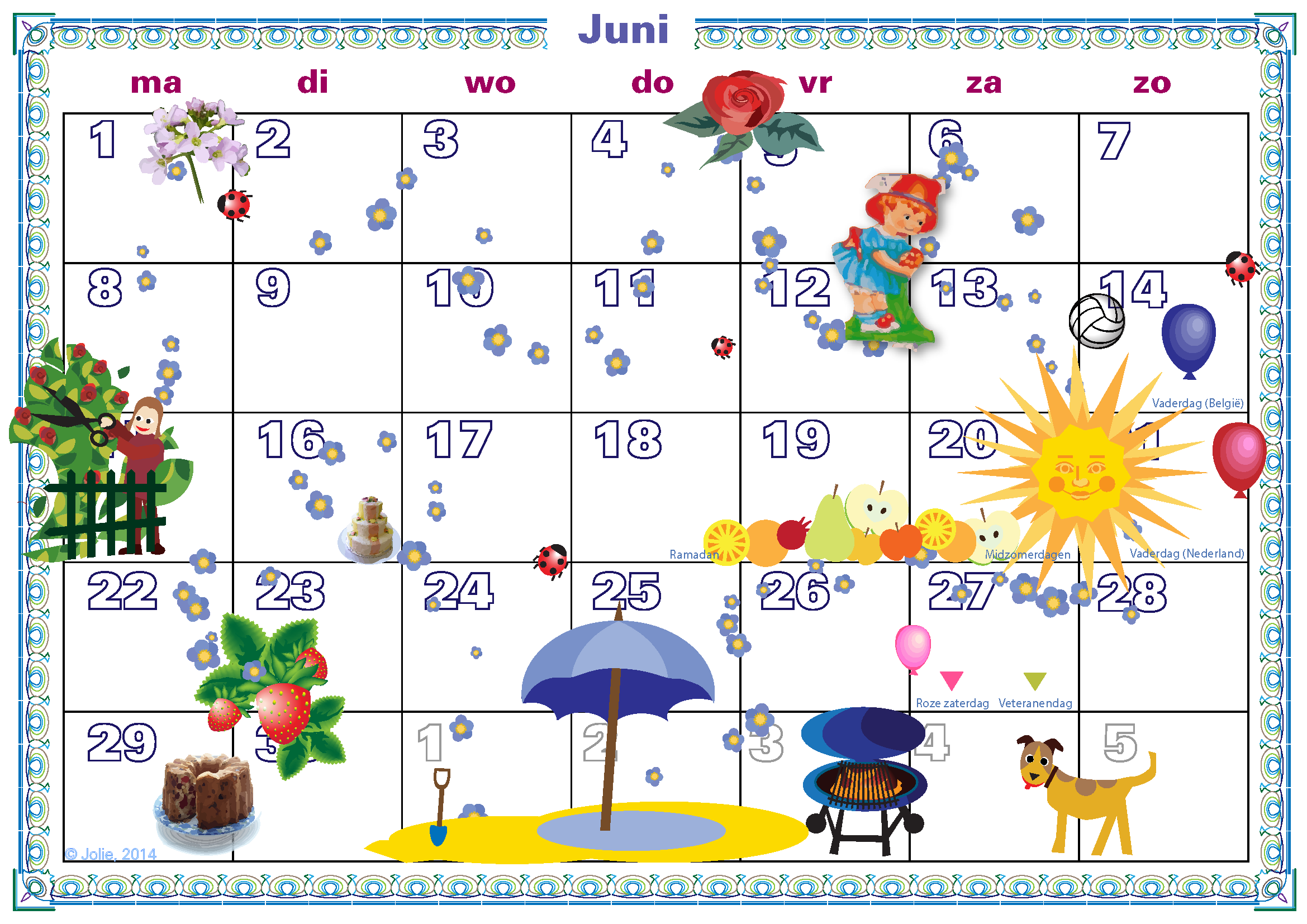 Printbare Maandkalender | Search Results | Calendar 2015